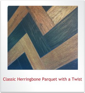 Classic Herringbone with a Twist