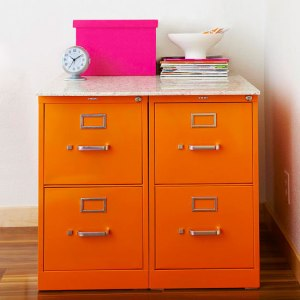 BHG_Orange_Filing_Cabinet