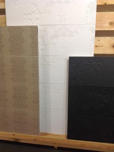 Lace wallcoverings