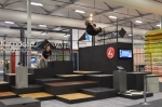 Thumbnail image for Parkour athletes put our flooring to the test at designEX 2014
