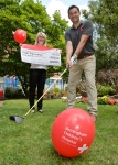 Thumbnail image for We tee off in support of Birmingham Children's Hospital