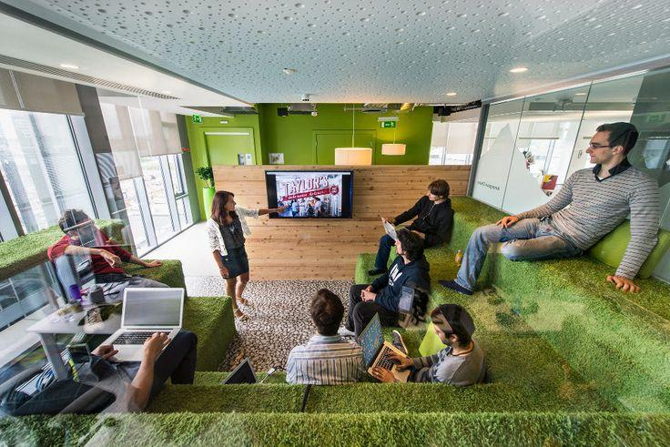 google headquarters interior design