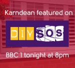 Thumbnail image for Tune into BBC1's DIY SOS tonight at 8pm!
